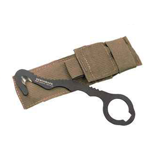 Benchmade 8 Rescue Hook Strap Cutter with Soft Coyote Sheath