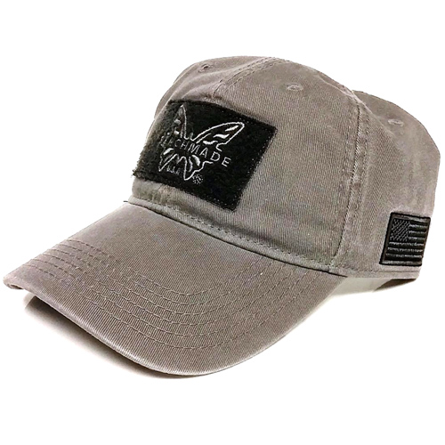 Benchmade Brand Grey Baseball Cap