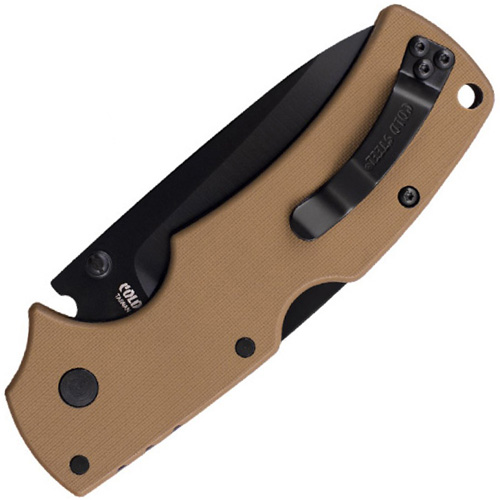 Cold Steel American Lawman Tan Folding Knife