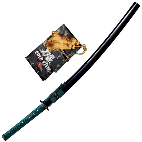 Cold Steel Dragonfly Katana Sword w/ Wood Scabbard