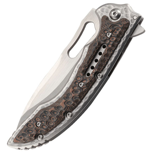 CRKT Ikoma Fossil Frame Lock Folding Knife