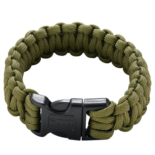 CRKT Onion Para-Saw Olive Drab Green Large Size Bracelet