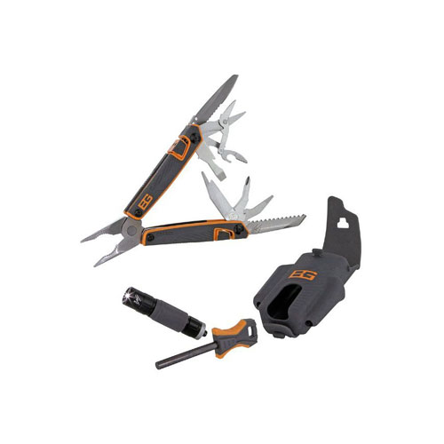 Gerber Survival Tool Pack - Multi-Tool Fire Starter And Flashlight
