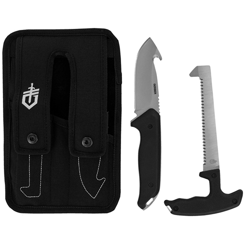 Gerber Moment Field Dress Kit III Fixed Blade Saw And Gut Hook
