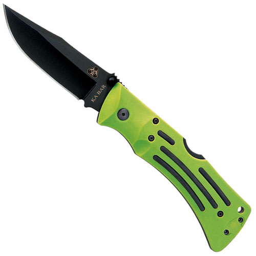 Ka-Bar 2-3058-5 Zombie Mule Straight Edge Folding Knife
