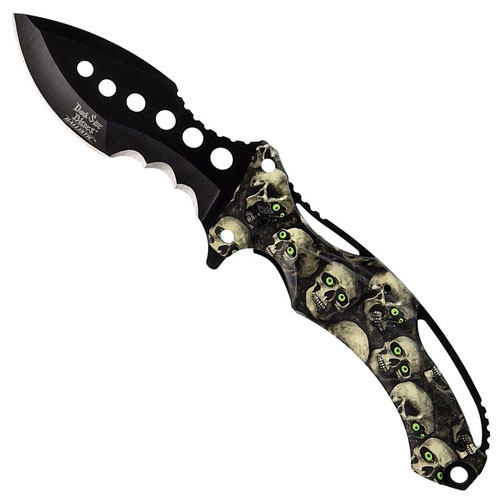 Dark Side Blades 5 Inch Closed Spring Assisted Folding Knife