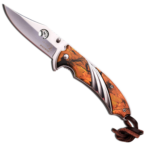 Elk Ridge Outdoor Camo Mirror ER-A540CA Spring Assisted Knife