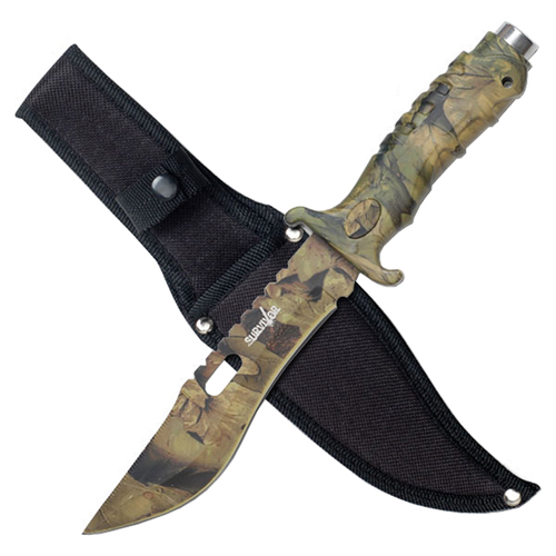Survivor HK-1038S 10.5 Inch Fixed Blade Survival Knife