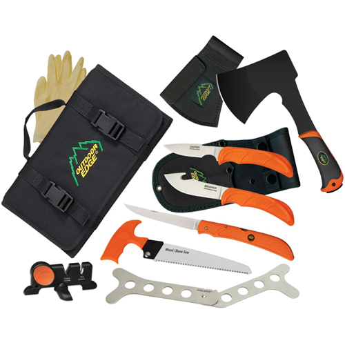 Outdoor Edge The Outfitter Hunting Knives Kit