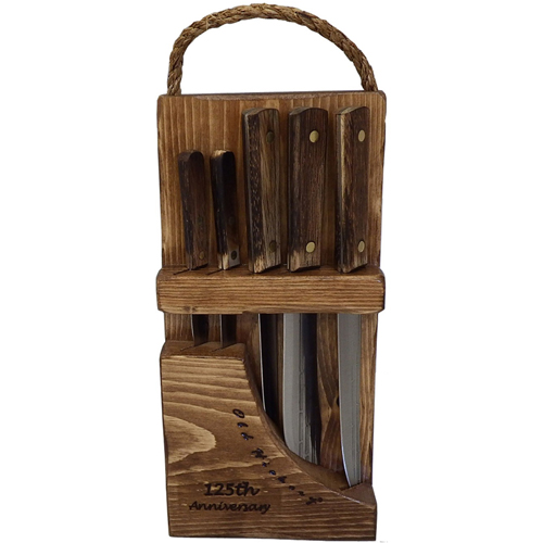 Ontario Knives Old Hickory 5 Piece Block Set
