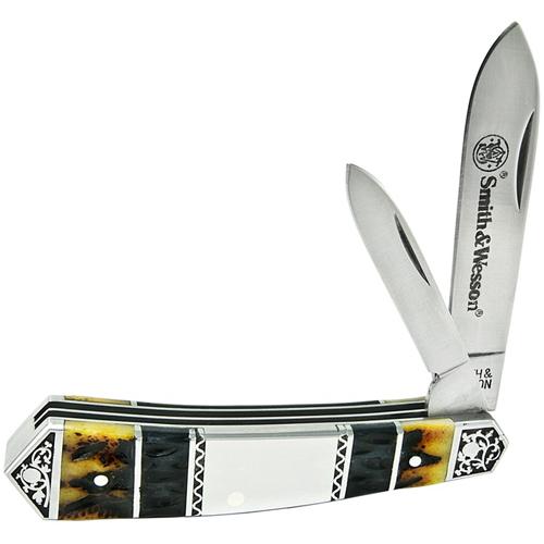 Smith & Wesson Teardrop Jack Bone Folding Knife