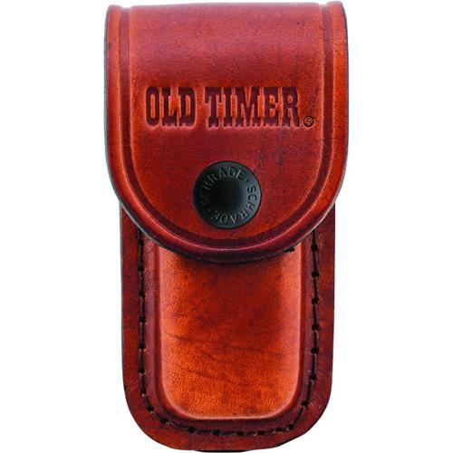 Old Timer Medium Brown Leather Belt Sheath
