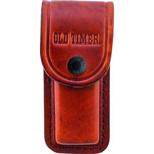 Old Timer Large Brown Leather Belt Sheath
