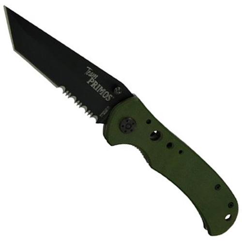 Schrade Primos Linerlock Folder Tanto Blade Knife