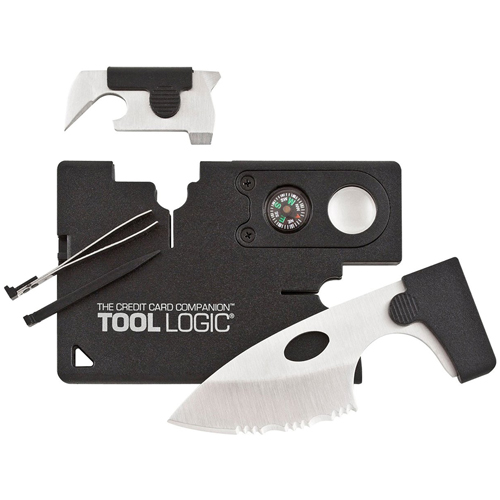 Sog Black Credit Card Companion With LED Light