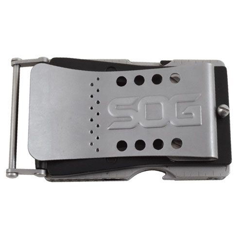 SOG Sync II Clip-On Multi Tool Belt Buckle