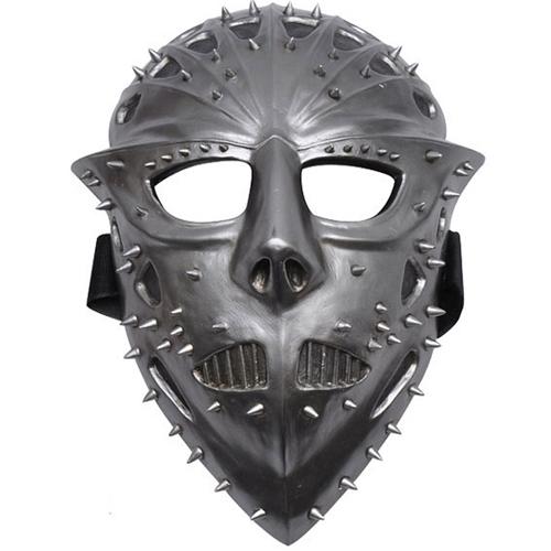 FM-534 Jason Voorheas Silver Spiked Face Mask