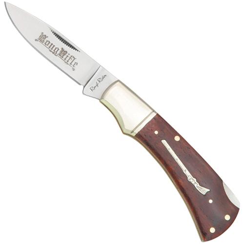Ridge Runner Stiletto Red Dragon Folding Knife