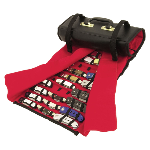 United Cutlery Knife Roll Storage Case - Over 50 Knives