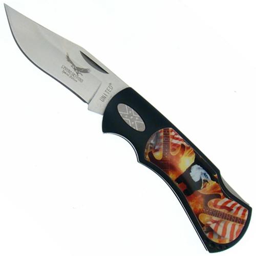 United Cutlery Lynyrd Skynyrd Rebel Eagle Folding Knife - Box Set