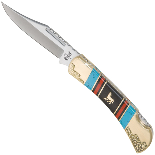 United Cutlery Frontier Collection Howling Wolf Lockback Knife