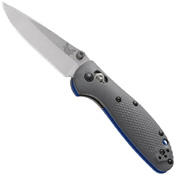 Benchmade 556-1 Mini Griptilian & G-10 Handle Folding Blade Knife