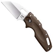 Cold Steel Tuff Lite Plain Folding Knife - Dark Earth