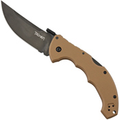 Cold Steel 21TLVB Talwar Folding Knife - Coyote