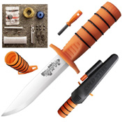 Cold Steel Survival Edge Orange Handle Version