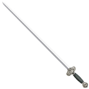 Cold Steel Jade Lion Gim Sword - 36.25 Inch Overall