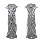 CRKT Tighe Dye Folding Knife With Belt Buckle And Money Clip Gift Set