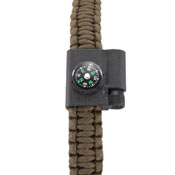 CRKT Stokes Paracord Bracelet with Compass and Firestarter