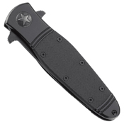 CRKT Bombastic Triple Point Serrations Folder