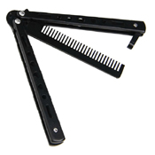 Training Butterfly Comb - Black