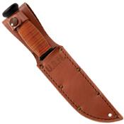Ka-Bar Straight Leather Mark I Fixed Blade Knife