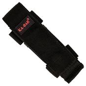 Ka-Bar 2-3051-6 Mule Black Polyester Sheath Serrated Folding Knife