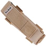Ka-Bar 2-3053-0 Mule Desert Tan Polyester Serrated Folding Knife