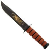 Ka-Bar Pearl Harbor USMC Commemorative Fixed Blade Knife