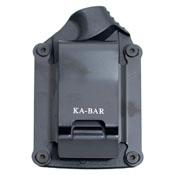 KA-BAR 4-1480CP-0 TDI Black Law Enforcement Clampack Straight Edge Fixed Knife