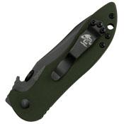 Kershaw Emerson Design CQC-5K Black Blade Olive Handle Folding Knife