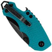Kershaw 8700TEALBW Shuffle Liner Lock Teal Folding Knife