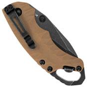 Kershaw 8750TTANBW Shuffle II Tanto Liner Lock Tan Folding Knife