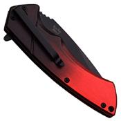Dark Side Blades Grediant Handle Folding Knife