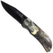 Master Cutlery Elk Ridge ER-118CA Folding Knife