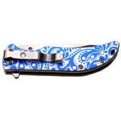 Femme Fatale 3.75 Inch Closed Mirror Polished Blade Folding Knife