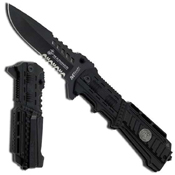 US Marine M-A1000B 3.5mm Black BladeFolding Knife