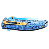 Masters Collection A019 Titanium Coated Folding Knife
