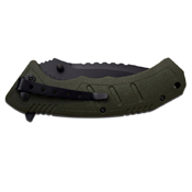 Master USA MU-A051 Nylon Fiber Handle Folding Knife