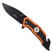 Master USA MU-A056 Glass Breaker Spring Assisted Folding Knife