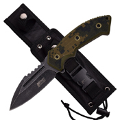MTech USA Xtreme G10 Handle Tactical Fixed Blade Knife
